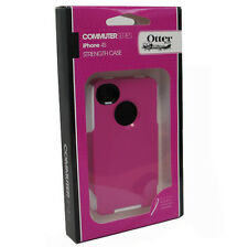 OtterBox OEM Hard Shell Case iPhone 4 4G Pink&White NEW with Screen Protector