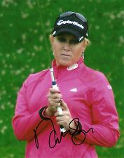 Natalie Gulbis Hand Signed 8x10 Photo Autograph LPGA Golf