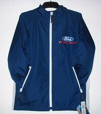 FORD RACING RAINCOAT  NYLON WINDBREAKER JACKET WITH PACKING POUCH  XXL