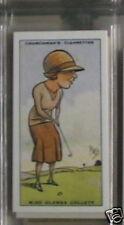#7 Miss Glenna Collett Golf tarjeta deportiva