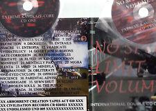 NO SPEED LIMIT VOLUME 3 - GER 2 X CDS- 92 TRKS-HARDCORE PUNK-GRINDCORE+BOOKLET