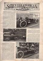 1906 Scientific American Supp January 27 Paris Automobile Show; Gastric juice