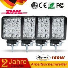 4X160W LED Arbeitsscheinwerfer Offroad Scheinwerfer Boot Bagger SUV 12V 24V IP67