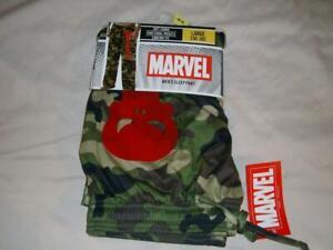 Marvel Men's Sleep Pant The Punisher No Mercy Camoflauge Mens Large New w/ Tag