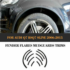 10PCS Fender Flares Car Wheel Well Arch Cover Trim For 06-15 Audi Q7 RSQ7 Sline