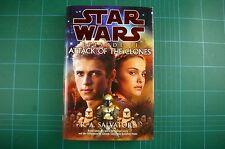 Star Wars: Episode II The Attack of the Clones - R Salvatore: 1st 2002 HB DJ VGC