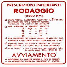 TAF0552 ADESIVO RODAGGIO PER MODELLI CHE USANO MISCELA AL 2% ED HANNO 4 MARCE VE