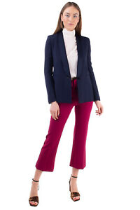 RRP €310 TWINSET SIMONA BARBIERI Tuxedo Blazer Jacket Size 42 / S Shawl Lapel