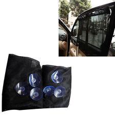 2*Car Sun Shade Side nylon Mesh Window Curtain Foldable Sunshade UV Protection