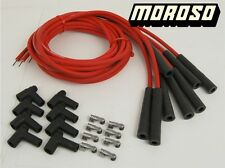 Ford 428, 427, 390, 352 Big Block FE HEI 8mm Red Spark Plug Wire Set By Moroso