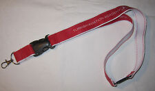 Turkish Airlines Aviation Academy porte-clés Lanyard Neuf (t159)