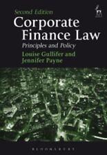 CORPORATE FINANCE LAW - GULLIFER, LOUISE/ PAYNE, JENNIFER - NEW PAPERBACK BOOK