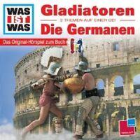 """WAS IST WAS """"FOLGE 21 GLADIATOREN/GERMANEN"""" CD NEUWARE"""