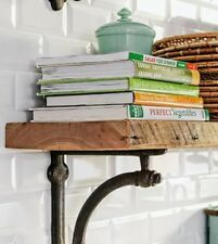 RUSTIC  WOODEN SHELF RECLAIMED TIMBER SHELF SEE PICS ...ANY COLOUR