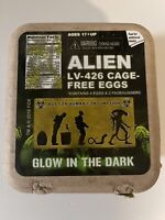 Alien Eggs Facehugger Monster Ridley Scott Glow Dark LootCrate LV-426 Cage Free
