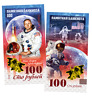 Russia 100 rubles Neil Alden Armstrong Polymeric