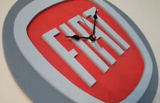 Orologio parete muro stemma FIAT auto Torino uno tipo punto ritmo italia panda
