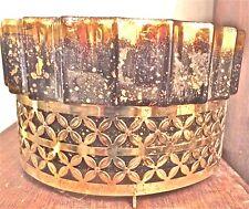 Vintage Maddux of California Lamp Planter TV Ceramic Brass Mid Century MCM
