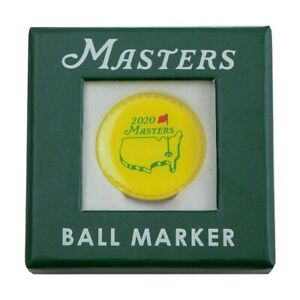 Official Masters 2020 Commemorative Golf Ball Marker from Augusta National - NIB