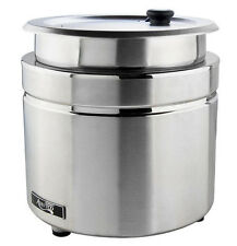 Avantco 11 Qt Stainless Steel Soup Kettle Warmer Commercial Restaurant Buffet