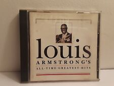 All-Time Greatest Hits by Louis Armstrong (CD, May-1994, MCA)