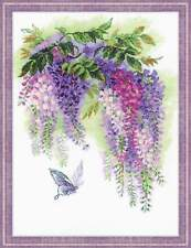 "Counted Cross Stitch Kit RIOLIS - ""Wisteria"""