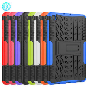 For Samsung Galaxy Tab A 8.4'' 2020 SM-T307 Silicone Hybrid Stand Case Cover
