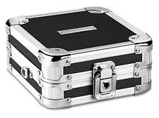 Vaultz Locking CD Wallet 32 Capacity Case Holder Storage Portable Box Lock New