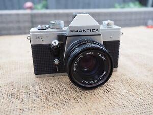 Vintage Praktica MTL3 35mm Camera & Lens Untested