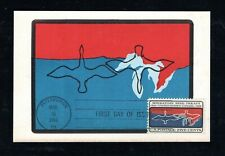 1966 Sc# 1306 Migratory Bird Treaty Colorano Maximum Card FDC