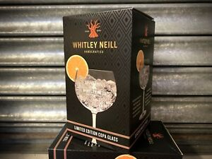 2 X WHITLEY NEILL GIN BALLOON GLASSES - BRAND NEW & BOXED - PUB BAR Fathers Day