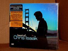 CHRIS ISAAK The Best of Chris Isaak CD+DVD Digipack  NUOVO SIGILLATO!!!