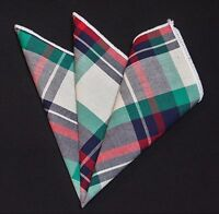 Hankie Pocket Square Cotton Handkerchief Black /& White CH069