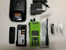 Motorola MotoTRBO XPR7550 UHF 403-512mhz Digital Radio AAH56RDN9KA1AN XPR Green