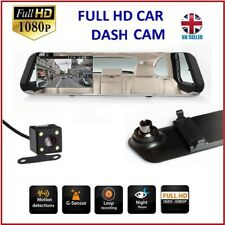 16GB FULL HD in Car Rear View Mirror CCTV Security Dual Camera Recorder DASH CAM