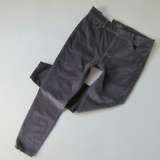 NWT DL1961 Florence Ankle in Silver Springs Gray Stretch Velvet Skinny Jeans 31