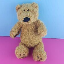 "Gund Lou Plush Teddy Bear 12"" Stuffed Animal Brown 043692"