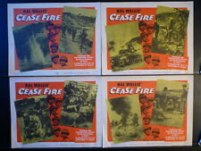 1953 CEASE FIRE 8 LC SET - KOREAN WAR DOCUMENTARY