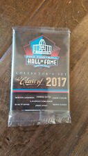 2017 PANINI FOOTBALL 8 CARD HALL OF FAME SET DAVIS TOMLINSON WARNER JONES EASLEY