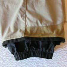 Columbia Ski Snow Winter Pants Khaki Convert Nylon XL 38 Waist Plus Excellent