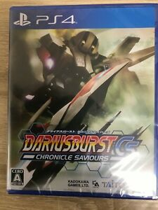 Darius Burst Chronicle Savers Sony Playstation 4 PS4 From Japan Tracking# NEW