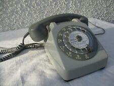 Téléphone à cadran rotatif vintage 1974 Socotel  S63