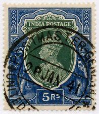 India 1941 jefe de correos general Provincias Unidas cancelar en KG6th 5R L3...