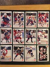 1991/92 Upper Deck Hockey Canada Cup Team USA Set 12 Cards