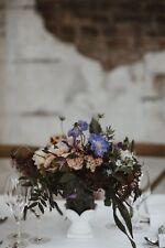 Small Handmade Glass and Stone Flower Vase