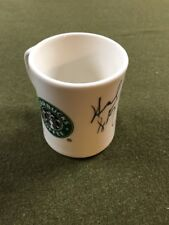 HOWARD SCHULTZ SIGNED ⭐️STARBUCKS ☕️ COFFEE MUG Pike Place Seattle ~ Ultra RARE