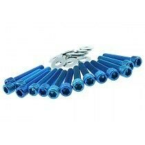 STR8 ALUM. SCREWING KIT PIAGGIO BLUE STR8 550.30/BL