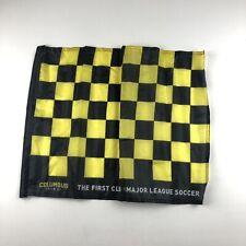 "Columbus Crew SC 16""x20"" Small Garden Flag Black And Yellow Soccer"
