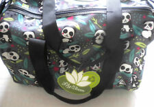 NWT Lily Bloom Zen PANDA POP Tara Overnight Duffel Bag Travel Carry-On