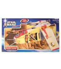 Star Wars Attack of the Clones Republic Gunship With Deployable Troop Platform